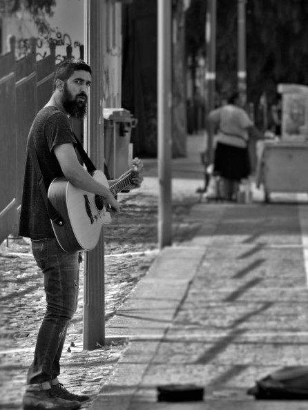 Chaun_Ballard-Leonidas_Plays_the__Guitar_Athens_Greece